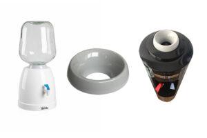 Dispensador de agua para botellas retornables de cristal